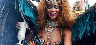 Rihanna Doğduğu Şehirde Karnavala Katıldı !